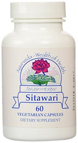 - Ayush Herbs - Sitawari 60 vcaps [Health and Beauty]