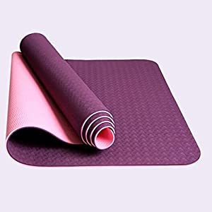 Non Slip Yoga Mat Ultra Lightweight Anti-tear Exercise Mat - Perfect for Pilates, Gym, Home Exercise, & Outdoor Activites - Multipurpose Workout Pad