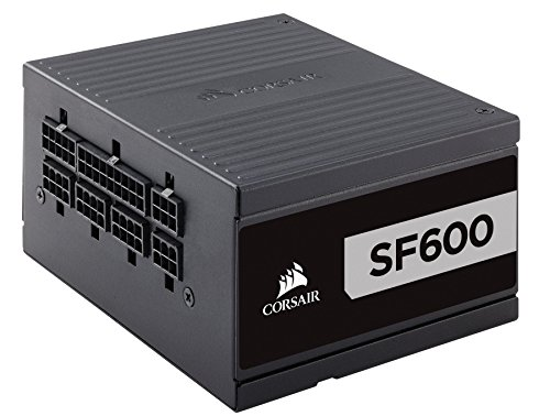Corsair SF Series, SF600, 600 Watt, SFX, 80+ Platinum Certified, Fully Modular Power Supply