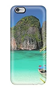 Kellie-Diy Kristen Turner Scratch-free cell phone case cover For Iphone 6 Plus- Retail Packaging - 7AVLANK75v5 Thailand Holidays Beach