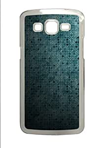 Blue Dots Abstract Custom Samsung Grand 7106/2 Case Cover Polycarbonate Transparent
