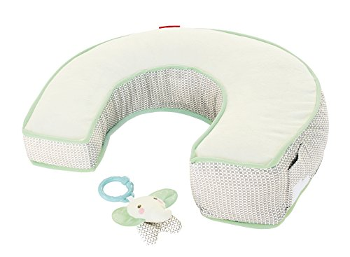 Fisher-Price Perfect Position 4-in-1 Nursing Pillow Cover, Elephant Luxe