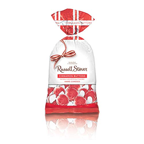 Russell Stover Cinnamon Buttons Hard Candies, 12 Ounce Bag