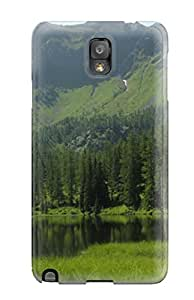 For Renee Cook Galaxy Protective Case, High Quality For Galaxy Note 3 Am Tauernkarsee Skin Case Cover Sending Screen Protector in Free