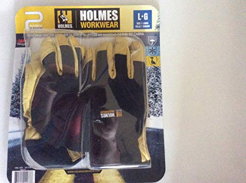 (Mike Holmes Workwear Goatskin Winter Gloves - 2 pairs (Large))