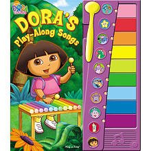 Dora the Explorer Xylophone Play-Along Songbook