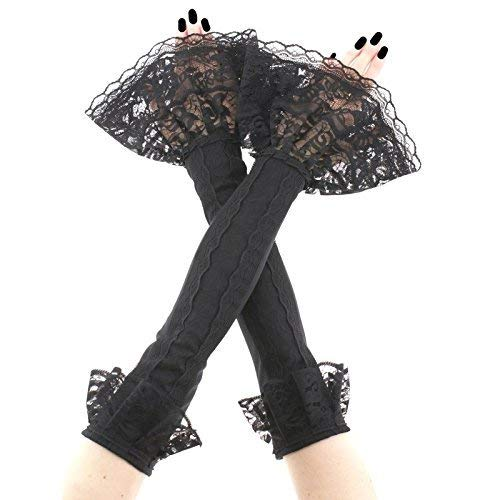 Extra long gloves arm warmers long fingerless gloves fingerless gloves black arm warmers long arm warmers womens gloves evening gloves ruffled long gloves black fingerless gloves black gloves 2910