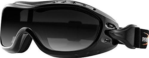 Bobster Night Hawk Polycarbonate Anti-Fog Goggles - Smoke Lens - BHAWK01