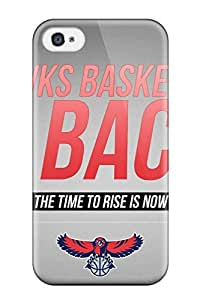 iphone covers DanRobertse Iphone 6 4.7 Well-designed Hard Case Cover Atlanta Hawks Nba Basketball (4) Protector