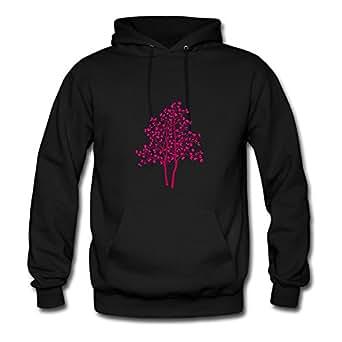 Women Tree Customizable Lightweight Cool Black Hoodiesby Sarahdiaz