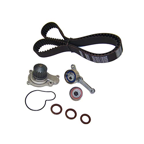 DNJ TBK151WP Timing Belt Water Pump Kit w/Tensioner for 1995-2002 Chrysler, Dodge, Jeep, Plymouth 2.4L EDZ - Plymouth Water