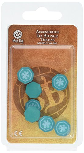 Steamforged Games Guild Ball Icy Sponge Status Tokens Board (Status Tokens)