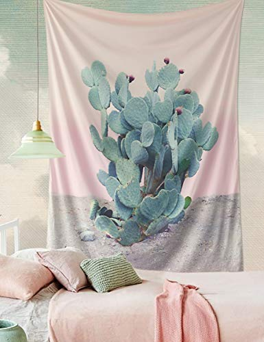 Wilder California Prickly Pear Tapestry Cactus Tapestry for sale  Delivered anywhere in USA