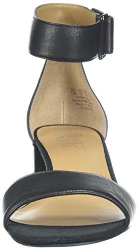 Sandalo Delle Nero Platino Tacco Sarto Rosalina Donne Franco EnCtqOBw