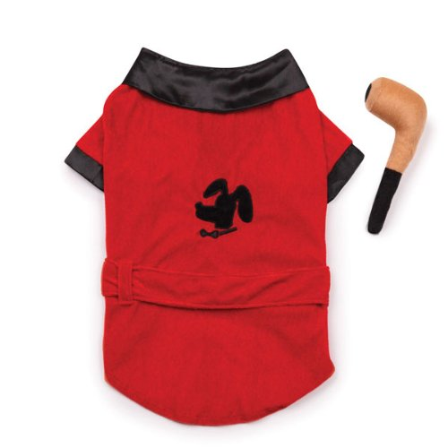 Casual Canine Party Hounds Smoking Jacket Costume, Large by Casual Canine