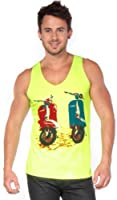 T&o 2 Scooters Tank Tank Tops M Men