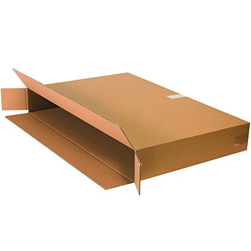 BOX USA B36524FOLMS Side Loading Moving Boxes, 36