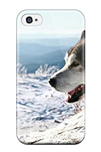 Durable Malamute Dog Back Case/cover For ipod Touch4 8051829K31983571