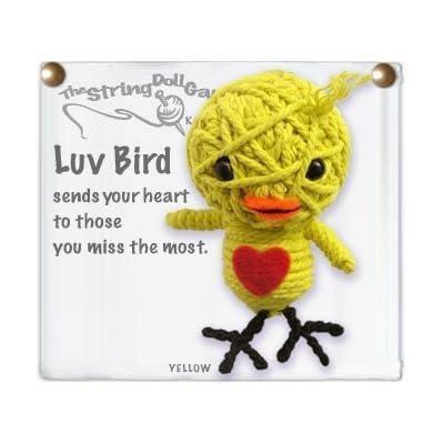 Kamibashi Luv Love Bird Original String Doll Gang Keychain Toy: Toys & Games
