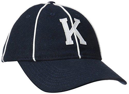 (Kangol Men's Vintage 8 Panel Baseball, Navy, Small)