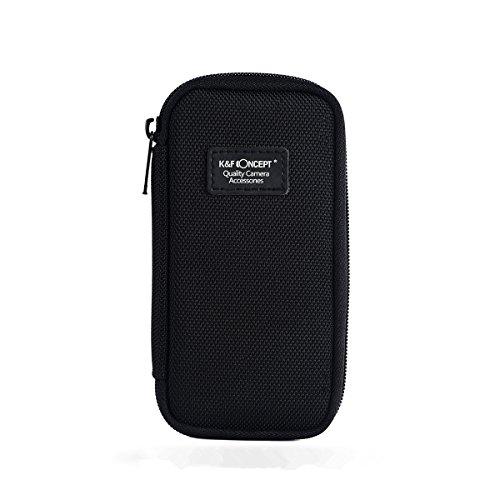 K&F Concept® 6 Fächer Objektivtasche Filter Wallet Tasche Objektiv Zubehör Filtertasche für DSLR Kamera Filter