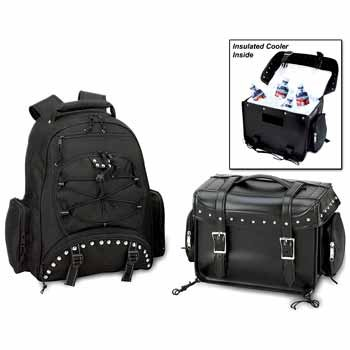 Heavy-Duty PVC Motorcycle Cooler Bag and ()