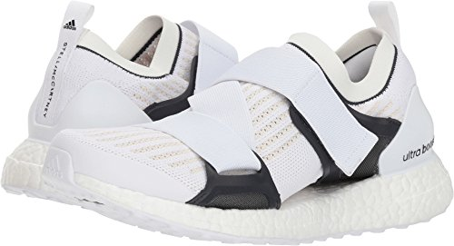 adidas by Stella McCartney Women's Ultraboost X Sneakers, White/Chalk White/Night Grey, 7 UK