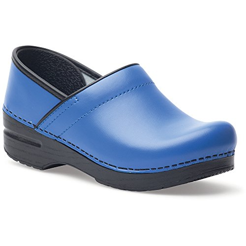 Professional Stapled Clog by Dansko Unisex Nursing Shoe Rainstorm Patent