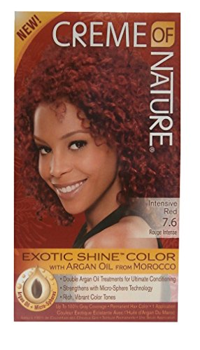 Creme of Nature Exotic Shine Color Hair Colour – Colour Intense Red 7.6
