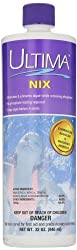 Ultima 26280 Nix Algaecide & Phosphate Remover For Swimming Pool, 1 Qt.