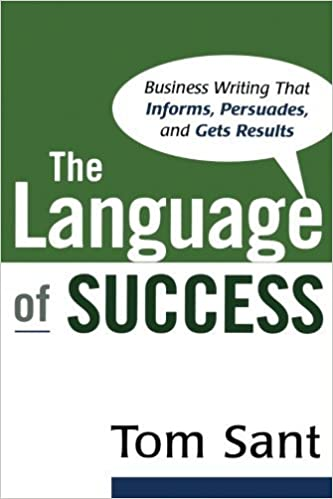 Book The Language of Success by Tom Sant (2008-01-23)