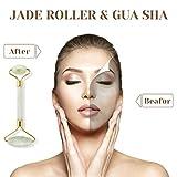 Jade Roller Gua Sha Set-Jade Roller For Face