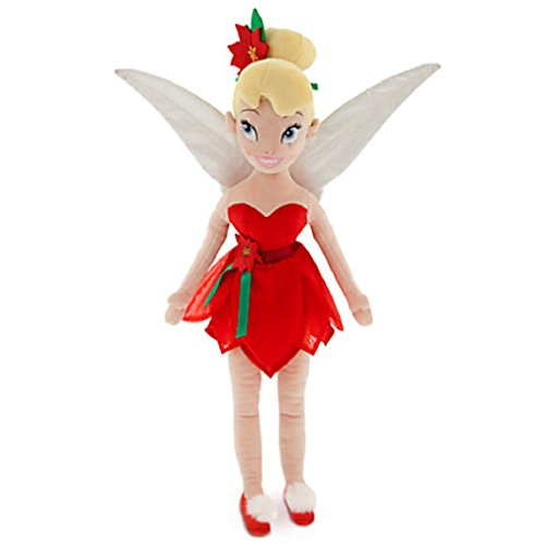 Disney - 2014 Tinker Bell Plush Doll - Holiday - Medium - 21 1/2'' - New