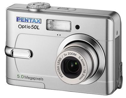 amazon com pentax optio 50l 5 megapixel digital camera kit point rh amazon com Pentax 16MP Camera Pentax Optio Waterproof Digital Camera