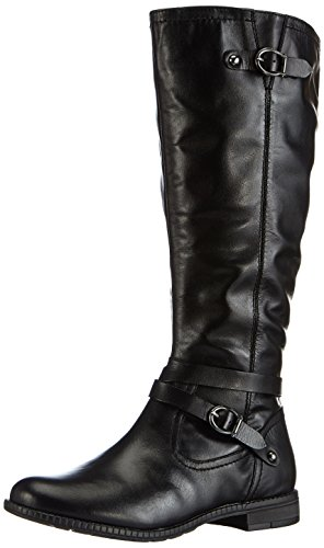 ARA Jenny Georgia Black Leather Riding Boots EUR 36 US 5.5-6 Medium 1ab2d92509