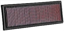 K&N 33-3039 Recambio Filtro de Aire Coche, Lavable y Reutilizable