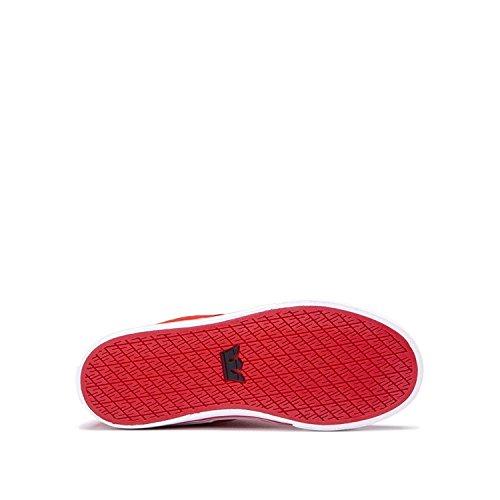 Supra - Chaussures De Skate Bandit Homme Rouge - Blanc