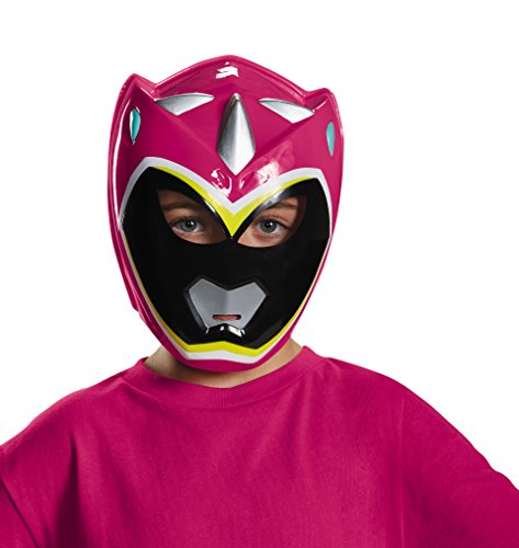[Disguise Pink Ranger Dino Charge Vacuform Mask Costume] (Power Rangers Masks)