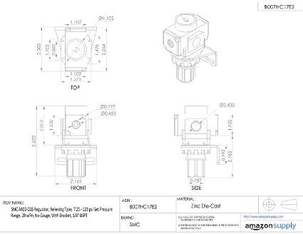 Shop Air Compressor Piping Diagram Regulator