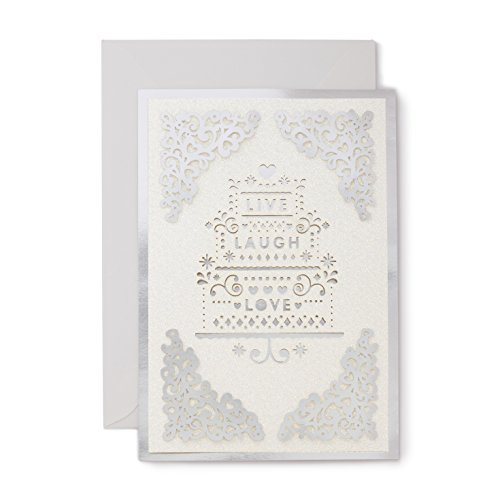Hallmark Signature Collection Wedding Card: Live, Laugh, Love