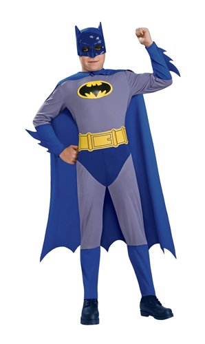 Batman The Brave and The Bold Batman Costume with Mask and Cape, Small for $<!--$21.43-->