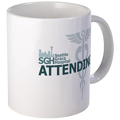 CafePress - Seattle Grace Attending - Unique Coffee Mug, Coffee Cup
