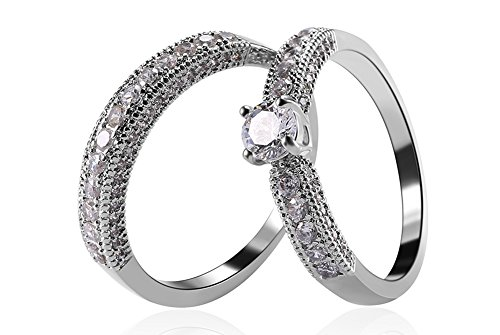 male wedding rings white gold - 5