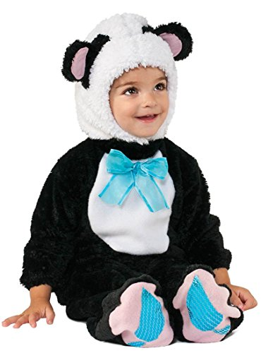 Rubie's Costume Co Baby's Panda Bear Costume, Multi, 6-12 (Panda Bear Halloween Costume Baby)