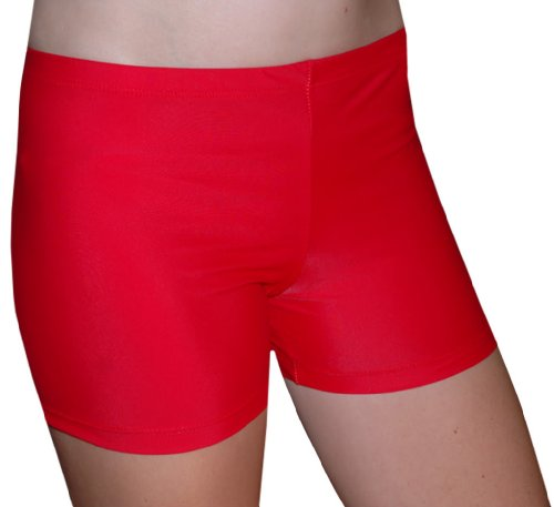 Tuga Juniors'/Women's Spandex Shorts, 3 Inch Inseam, Bright Solids ...