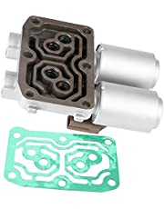 Aramox Transmission Solenoid, Dual Linear Shift Solenoid Control Valve for Honda Accord CRV Acura RSX 28260-PRP-014