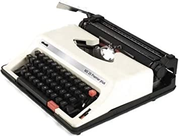 Olivetti MS25SP Model MS 25 Premier Plus Portable English/Spanish Manual Typewriter (12667X)