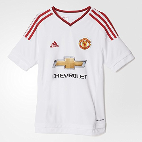 adidas Youth Climacool Manchester United Away Replica Soccer Jersey