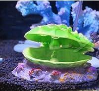 Aquarium Pearl Shell Scallop Fish Tank Ornament Bubbler Decorations