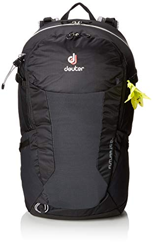 (Deuter Futura 26 SL Hiking Backpack with Detachable Rain Cover, Black)